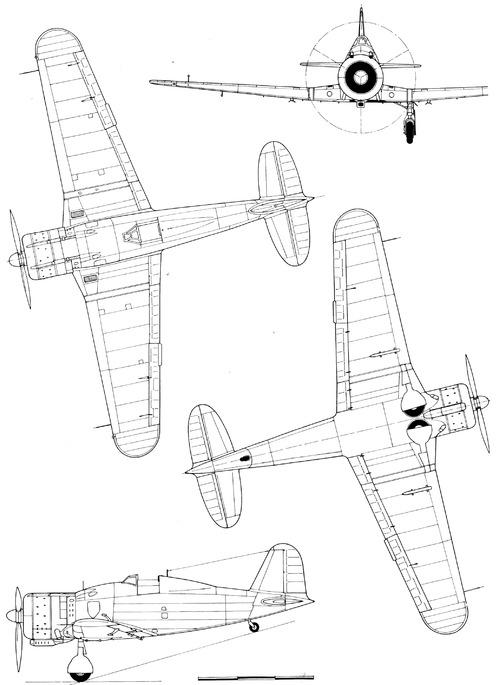 Fiat G.50 bis Freccia