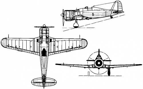Fiat G.50 Freccia (Italy) (1937)