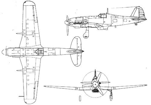 Fiat G.55 S-1 Centauro