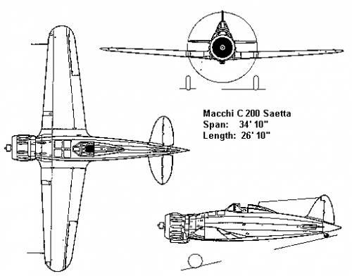 Macchi C 200