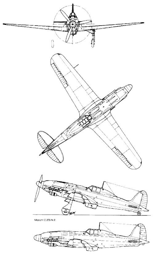 Macchi C.205 N1 Veltro
