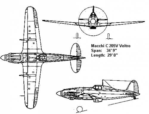 Macchi C 205 V