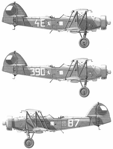 Letov S-328, Czechoslovakian airplane (1938)