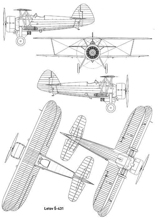 Letov S-431