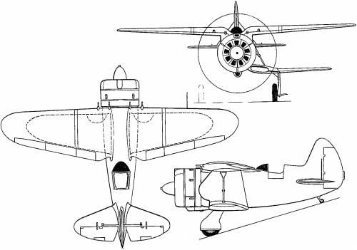 Nikitin-Shevchenko IS-1 (Russia) (1940)