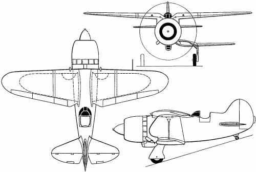 Nikitin-Shevchenko IS-2 (Russia) (1941)