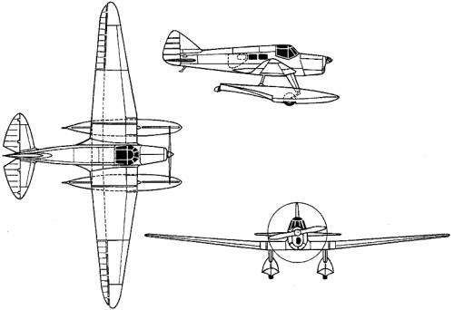 Shavrov Sh-3 (Russia) (1936)