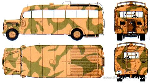 Opel Blitz Omnibus W39