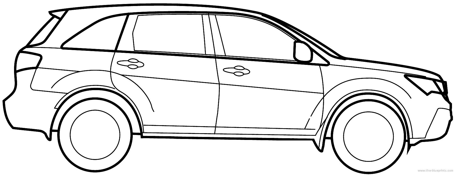 Blueprints Gt Cars Gt Acura Gt Acura Mdx 2010