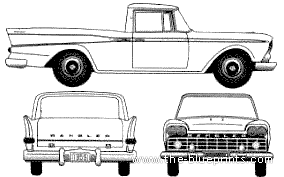 AMC Rambler Delivery Pick-UP (1959)