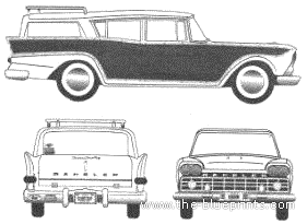AMC Rambler Wagon (1959)