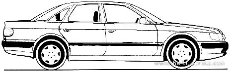 Audi 100 2.3E (1992)