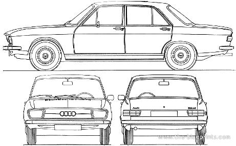 Audi 100 LS (1969)