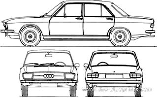 Audi 100 LS (1970)