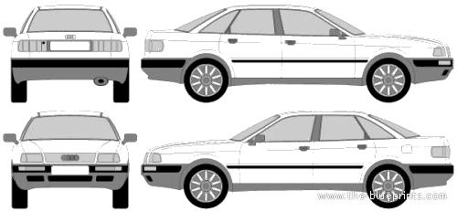 Audi 80 B3 (1986)