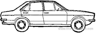 Audi 80 GL (1974)