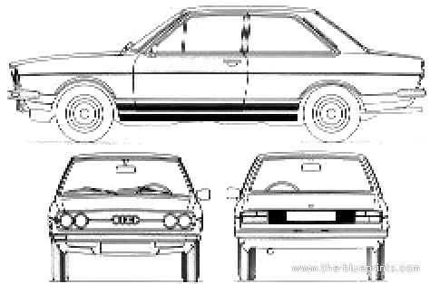 Audi 80 GT (1973)