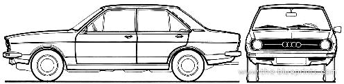 Audi 80 L (1973)