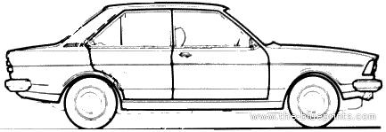 Audi 80 L (1976)