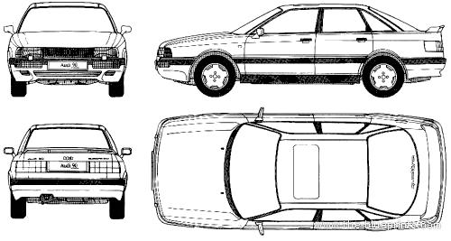 Audi 90 B3 (1987)