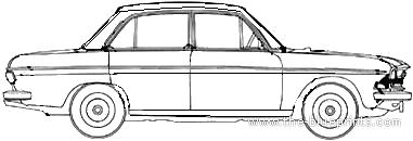 Audi 90 LS (1970)