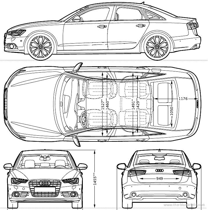 The Blueprints Com Blueprints Gt Cars Gt Audi Gt Audi A6 2013