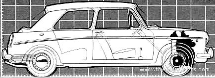 Austin 1100 2-Door (1968)