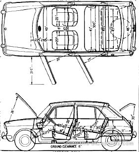 Austin 1100 Deluxe 1963