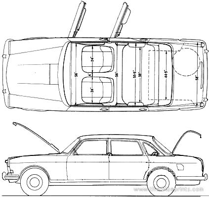 Austin 3 Litre De Luxe Automatic (1968)