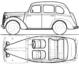 Austin 8 (1939)