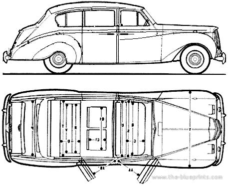 Austin A135 Princess Saloon (1965)