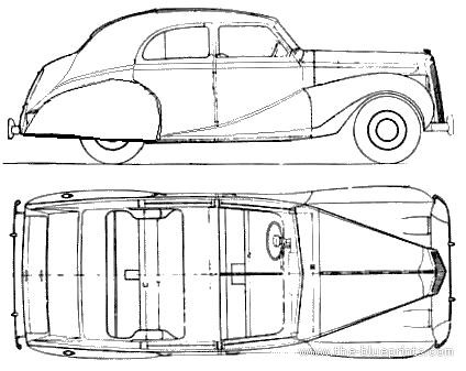 Austin A135 SI Princess (1948)