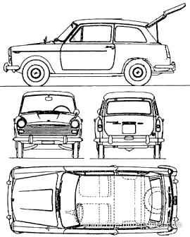 Austin A40 Countryman (1966)