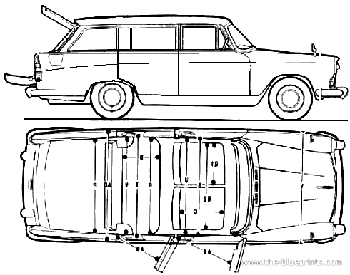 Austin A60 Cambridge Countryman (1969)