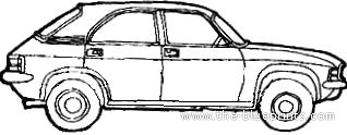 Austin Allegro 1750 SS (1974)