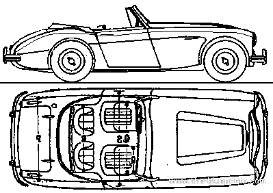 Austin Healey 3000 Sports (1963)