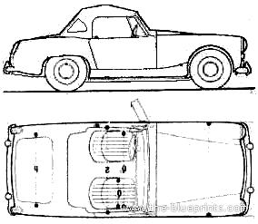 Austin Healy Sprite Mk.III
