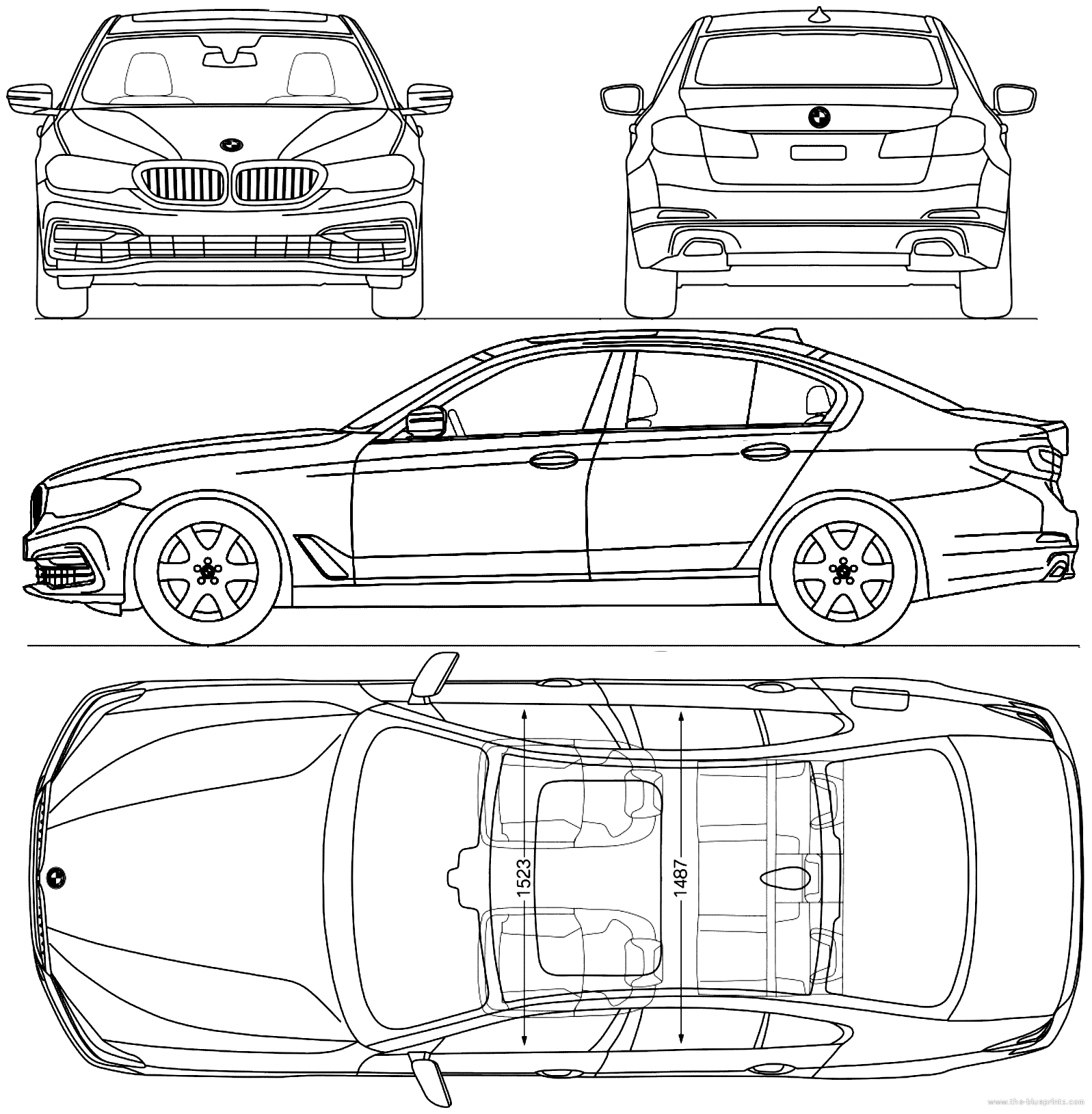 Blueprints Gt Cars Gt Bmw Gt Bmw 5 Series G30 2017