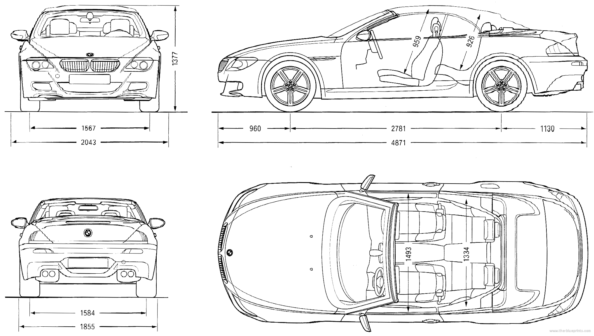 Blueprints Gt Cars Gt Bmw Gt Bmw M6 Convertible E64