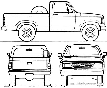Chevrolet D20 Pick Up (1993)