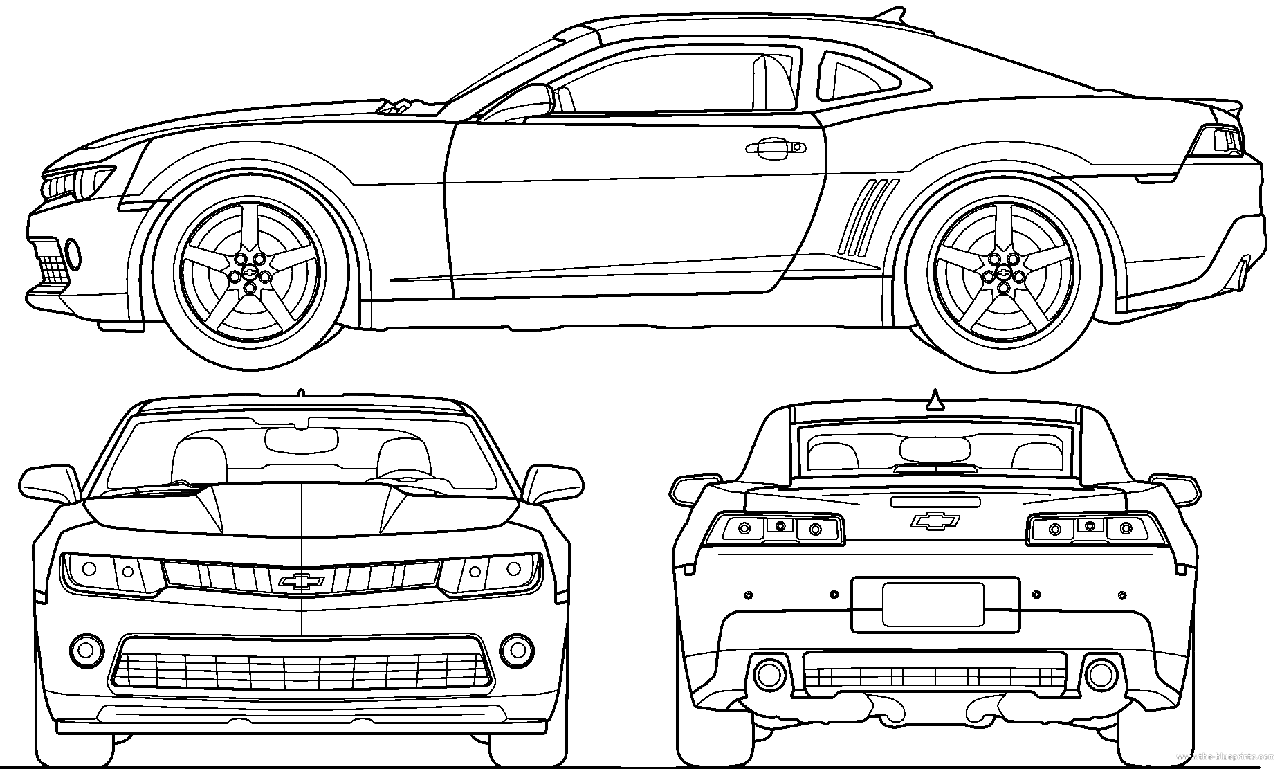 Blueprints Of Classic Cars
