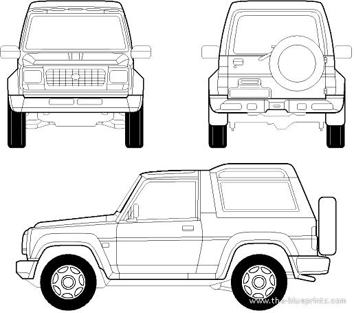 1992 Daihatsu Rocky Camshaft: Blueprints > Cars > Daihatsu > Daihatsu Rocky II (1998