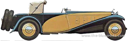 Delage D8 SS 100 (1933)