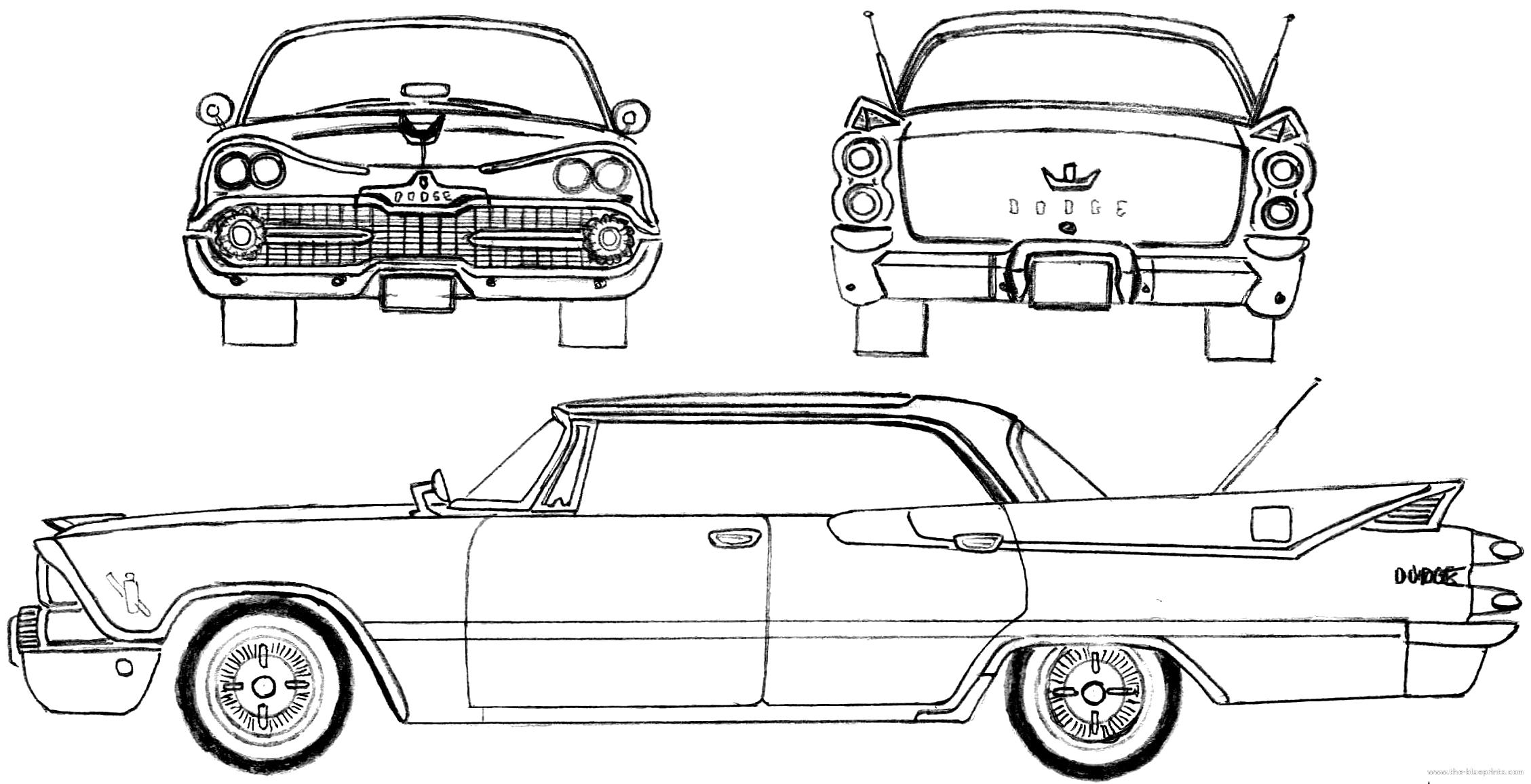 Blueprints Gt Cars Gt Dodge Gt Dodge Custom Royal Lancer 4