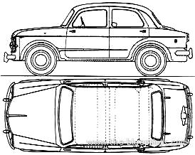 Fiat 1100-103 Millecento (1956)
