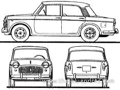 Fiat 1100 Millecento Export (1960)