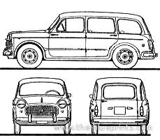 Fiat 1100 Millecento Familiare (1960)