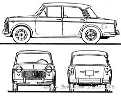 Fiat 1100 Millecento Special (1960)