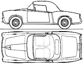 Fiat 1100 TV Cabriolet (1956)