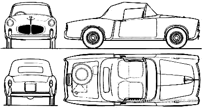 Fiat 1100 TV Cabriolet (1960)